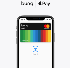bunq apple pay