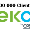 eko by ca 100 000 clients