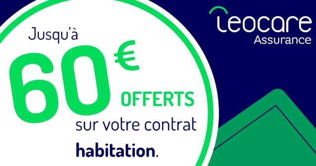 60€ offerts leocare