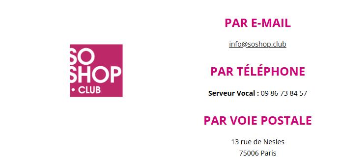soshop club service client