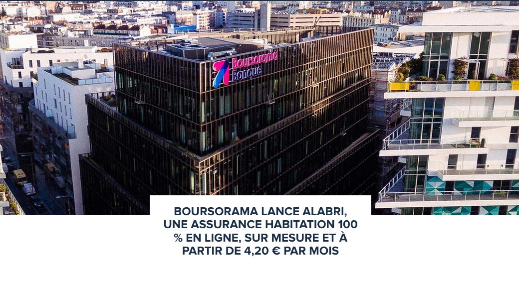 boursorama banque alabri assurance habitation digitale