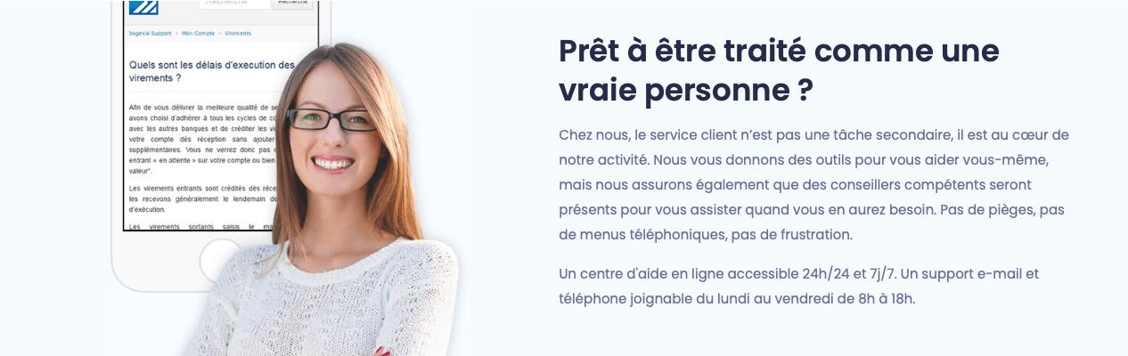 le service client sogexia